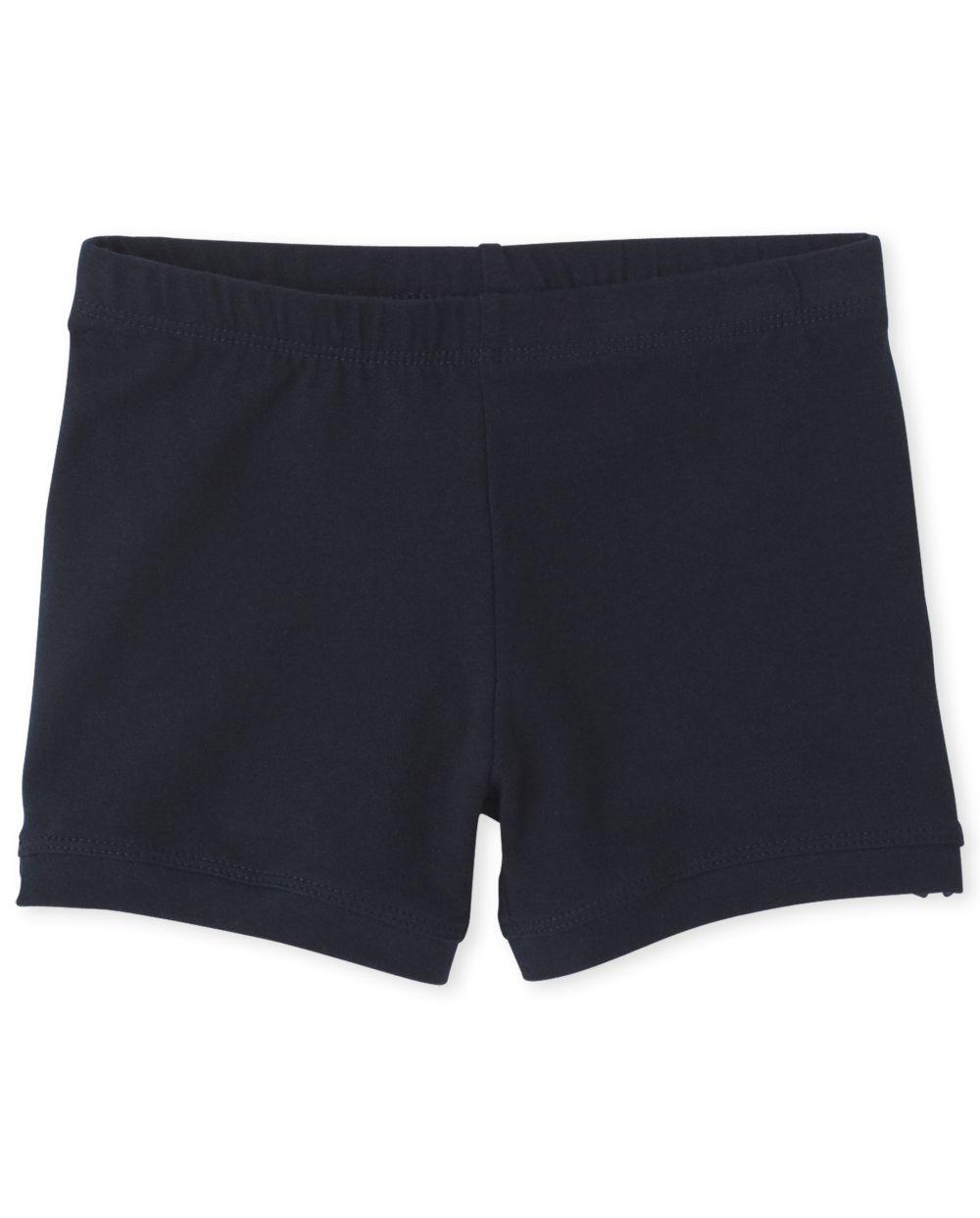 Pantalones cortos de rueda de carro de uniforme para niñas