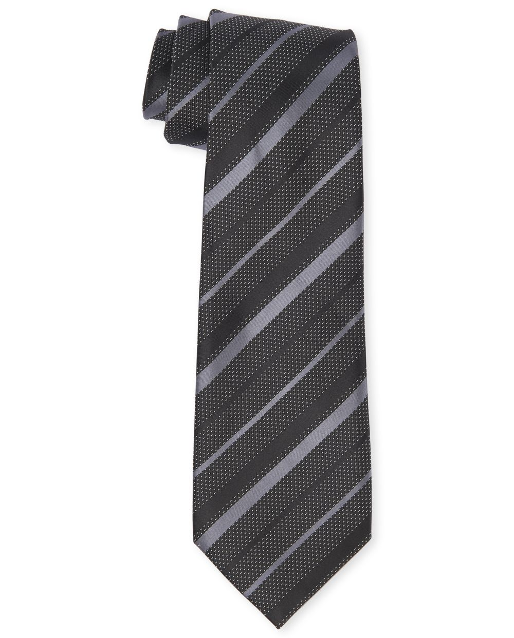 Boys Uniform Striped Tie