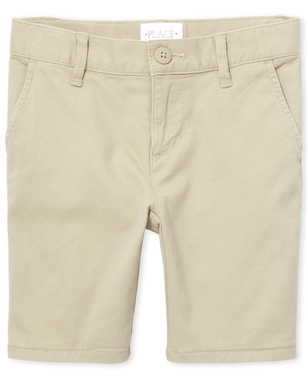 Pantalones cortos chinos de uniforme para niñas