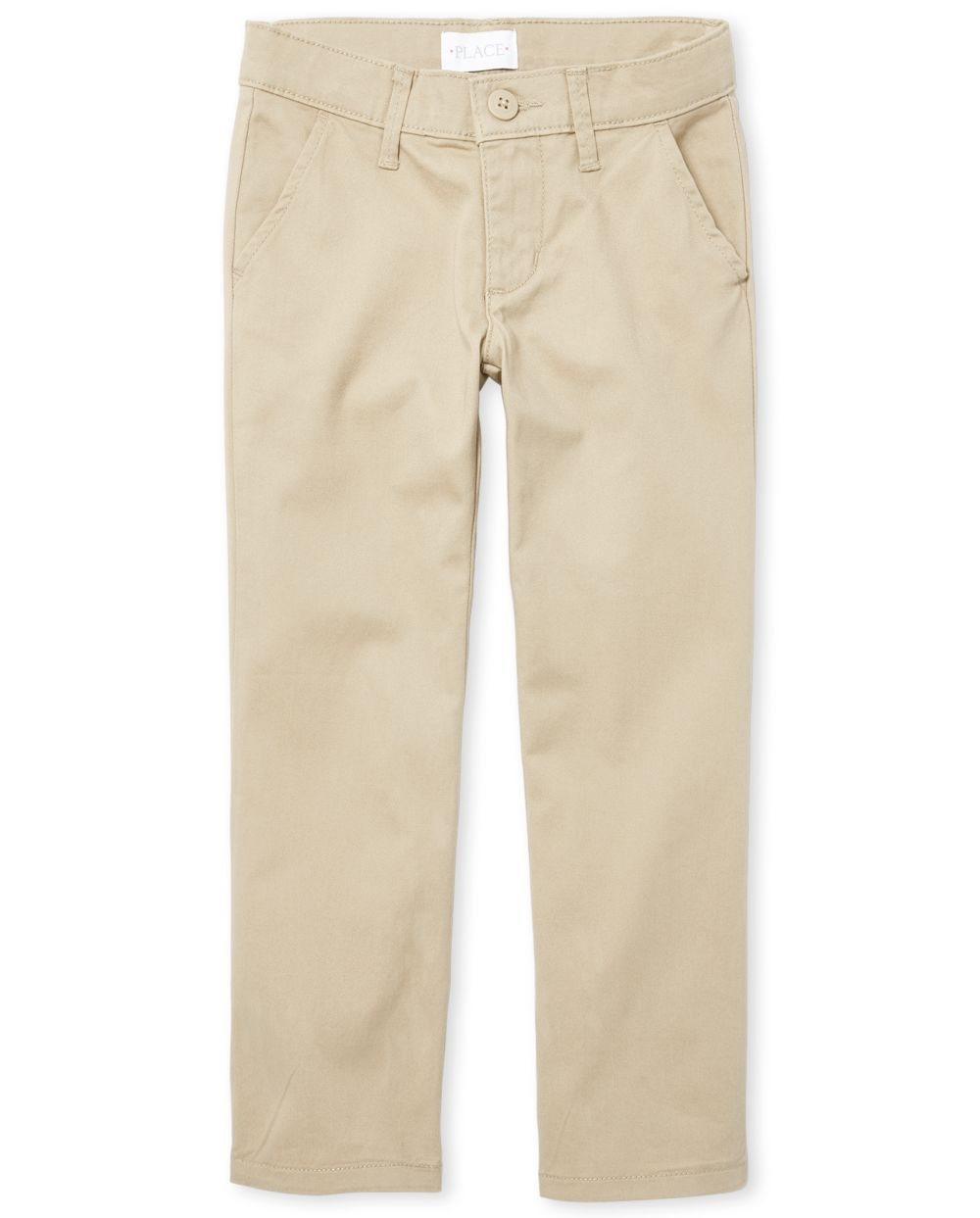 Girls Uniform Bootcut Chino Pants