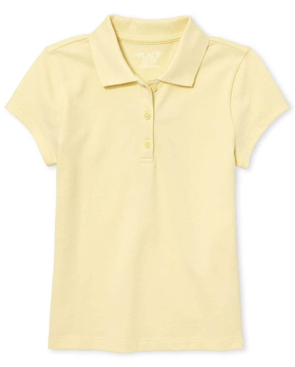 Girls Uniform Pique Polo