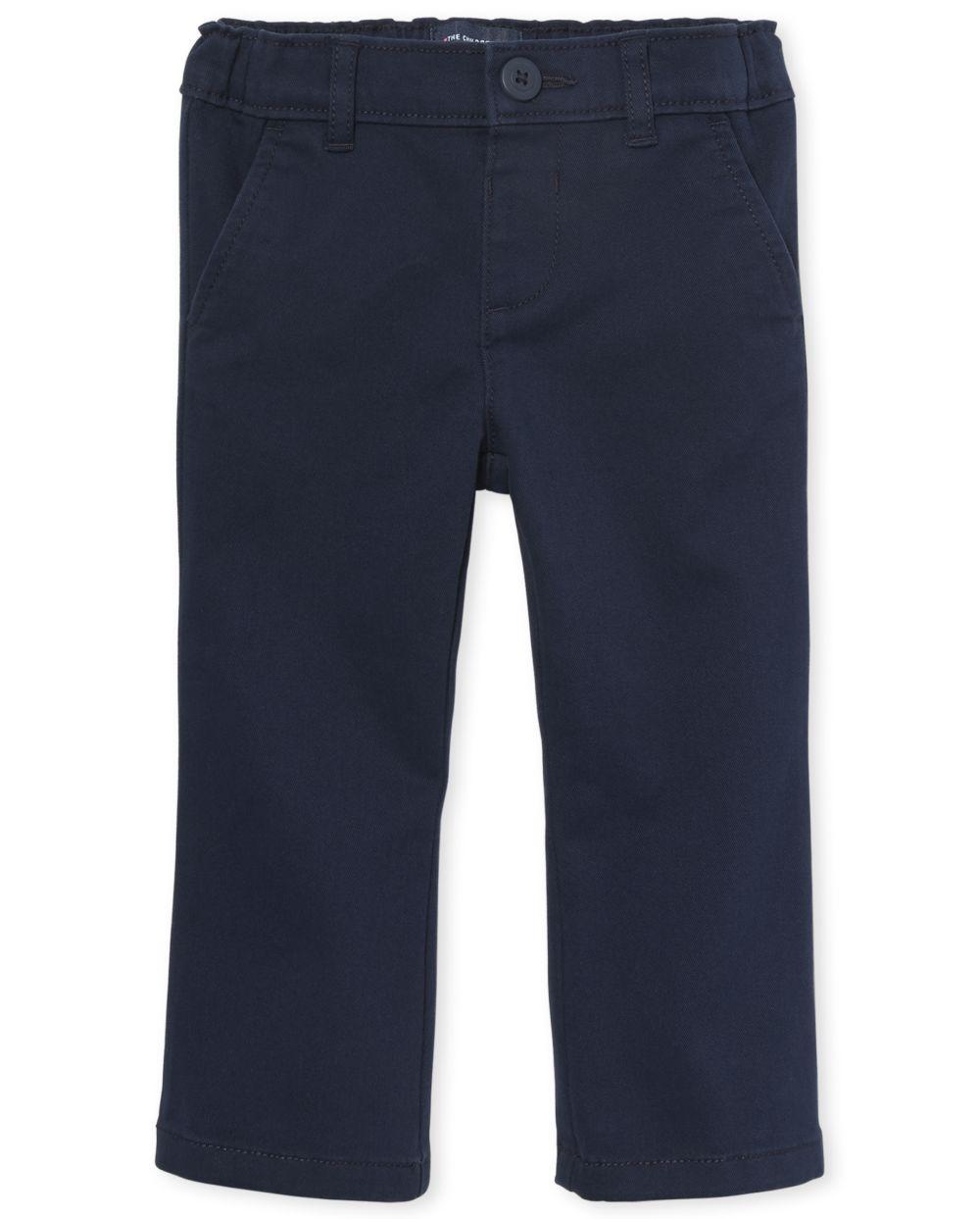 Toddler Girls Uniform Bootcut Chino Pants