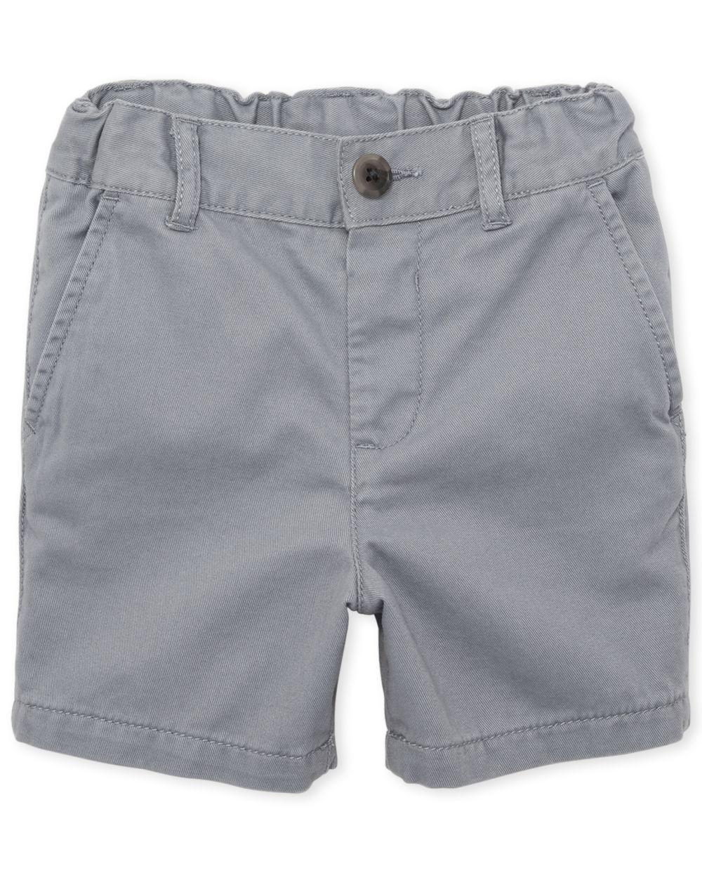 Toddler Boys Uniform Chino Shorts