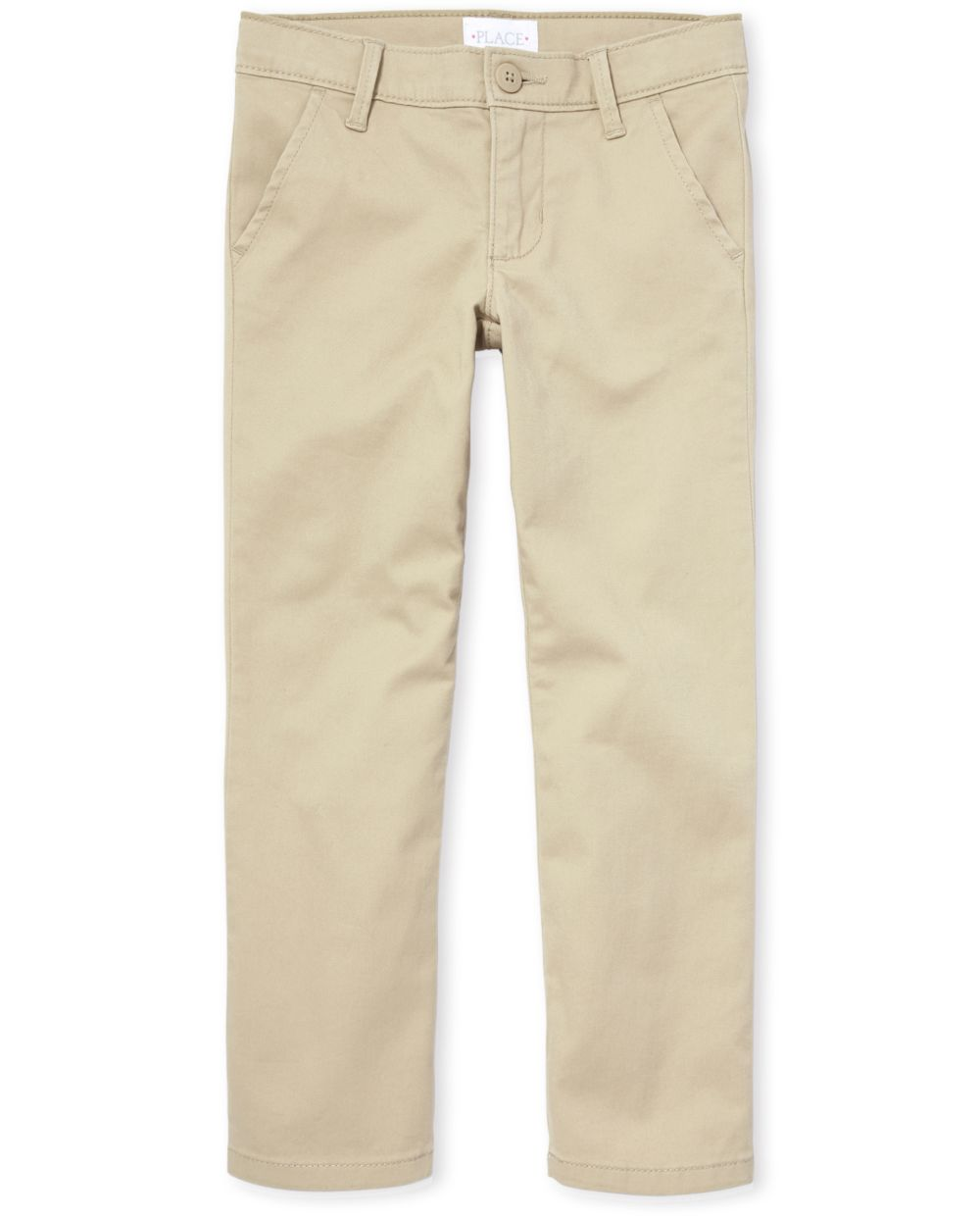 Girls Uniform Skinny Chino Pants