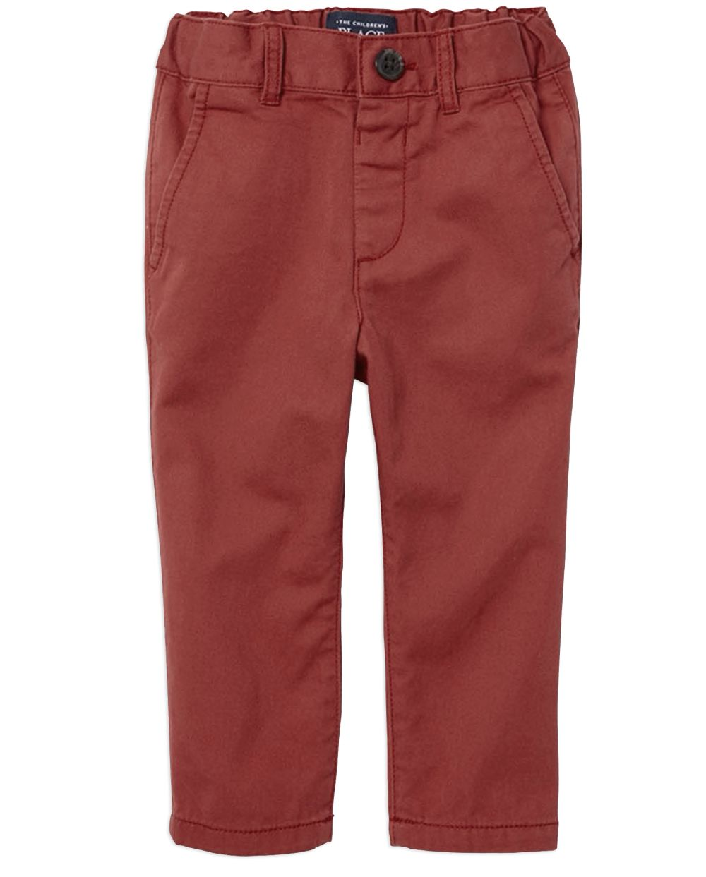 Baby And Toddler Boys Uniform Skinny Chino Pants
