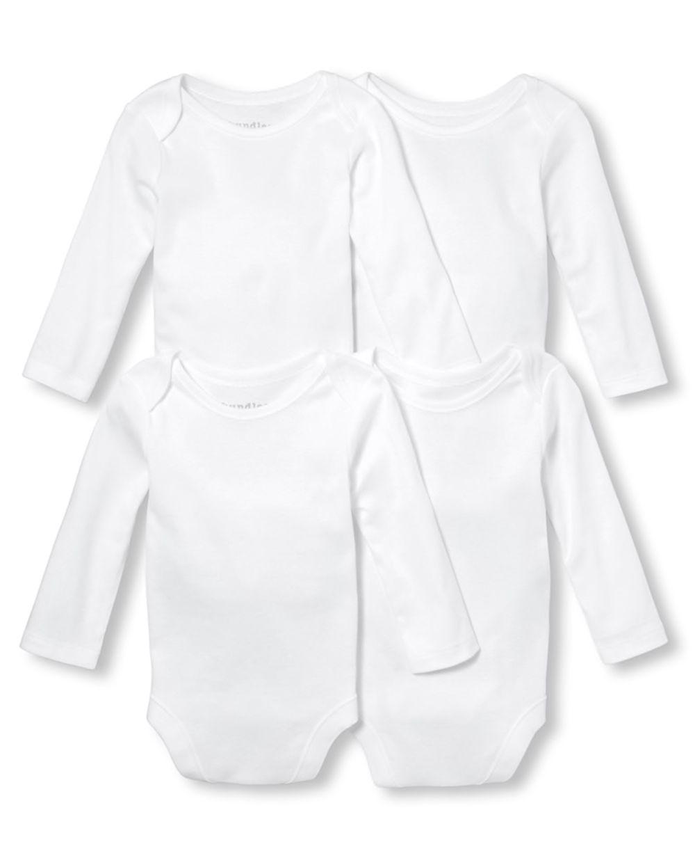 Unisex Baby Bodysuit 4-Pack