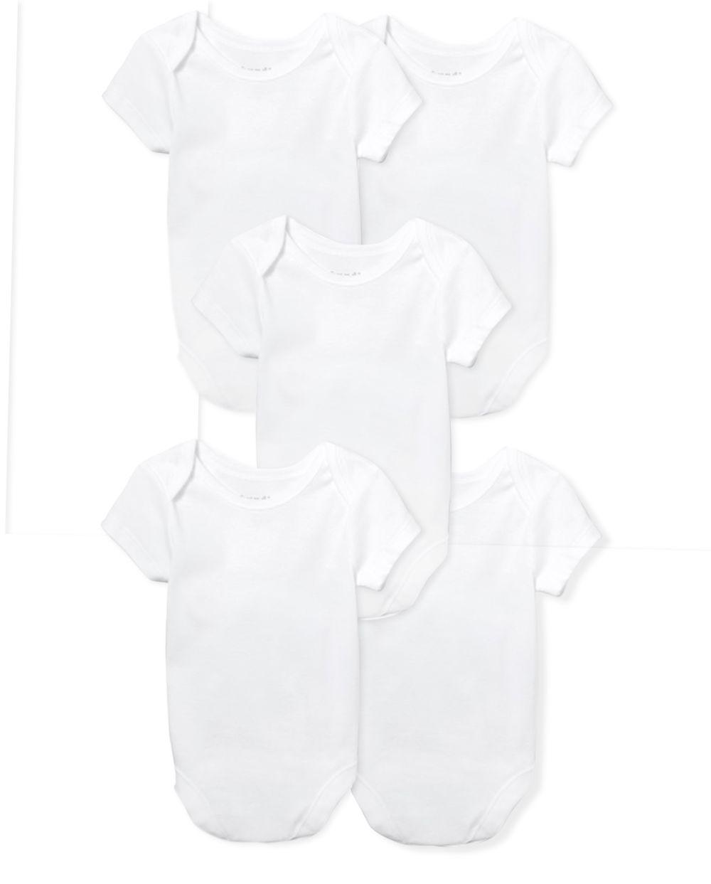 Unisex Baby Bodysuit 5-Pack
