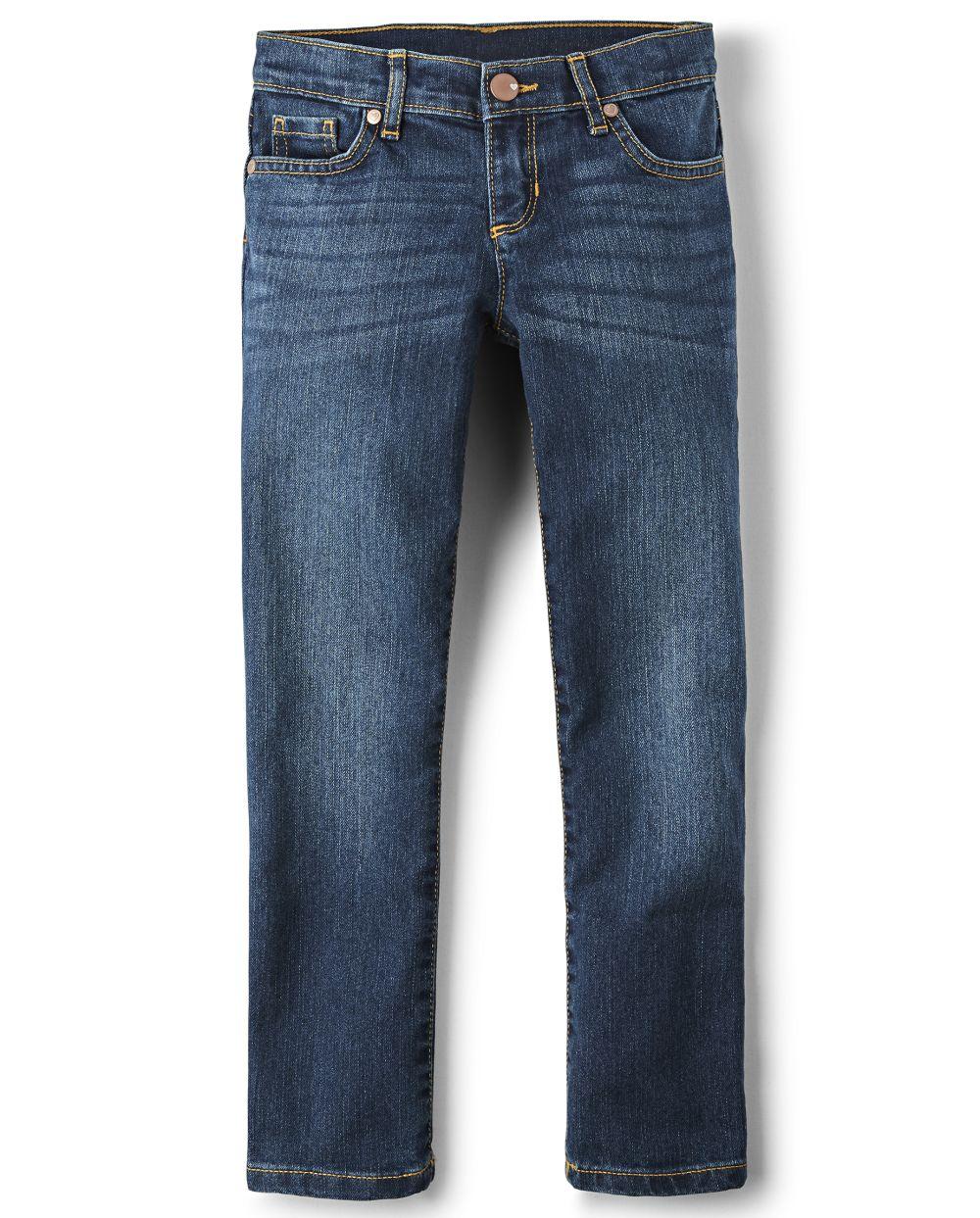 Girls Basic Skinny Jeans