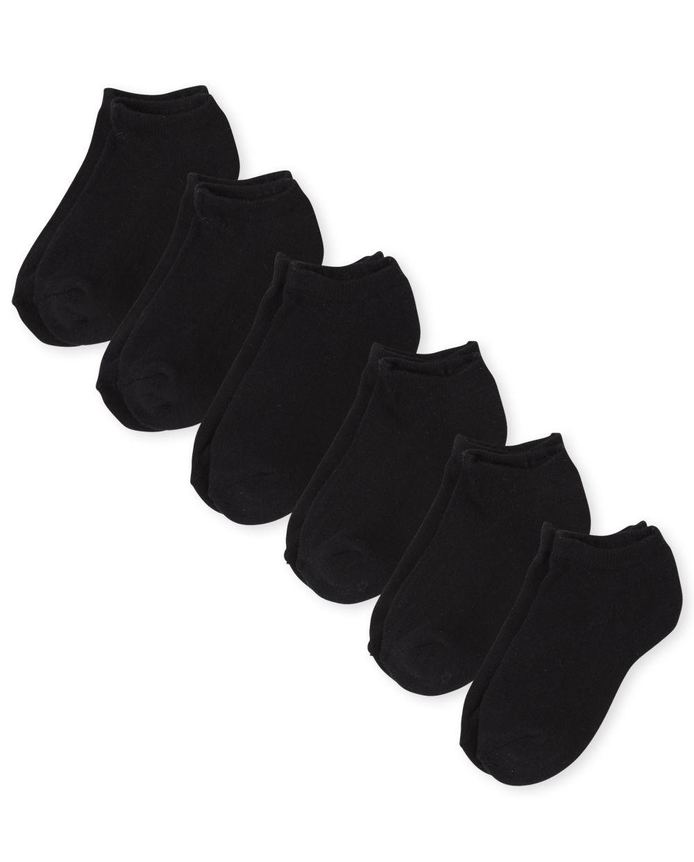 Unisex Kids Ankle Socks 6-Pack