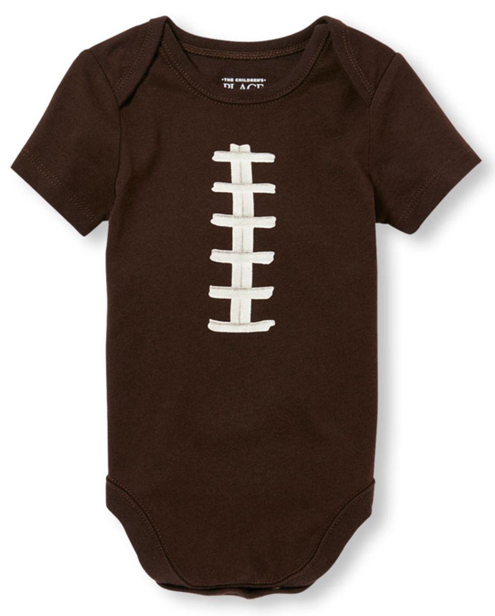 Baby Boys Football Graphic Bodysuit
