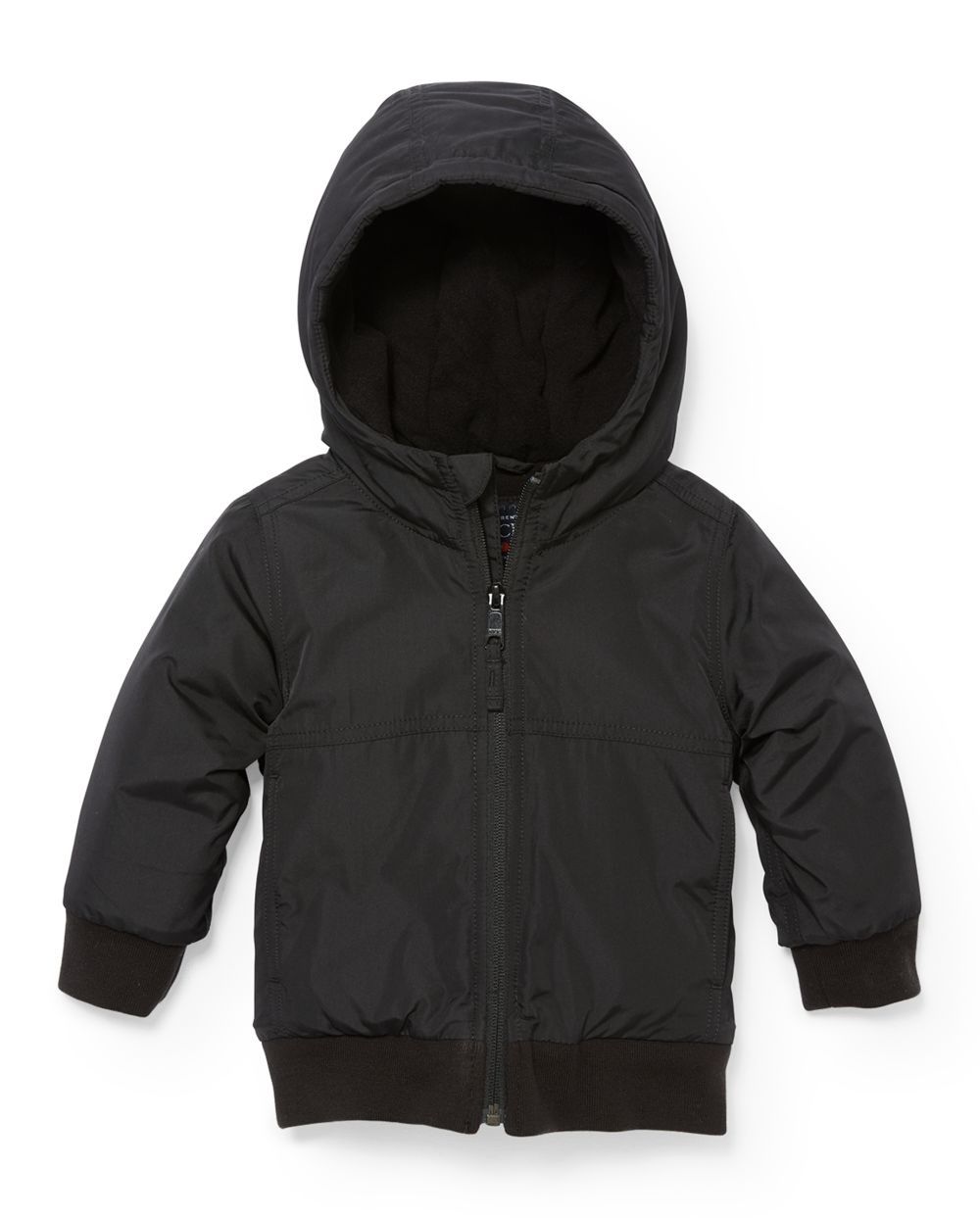 Toddler Boys Hooded Bomber Jacket