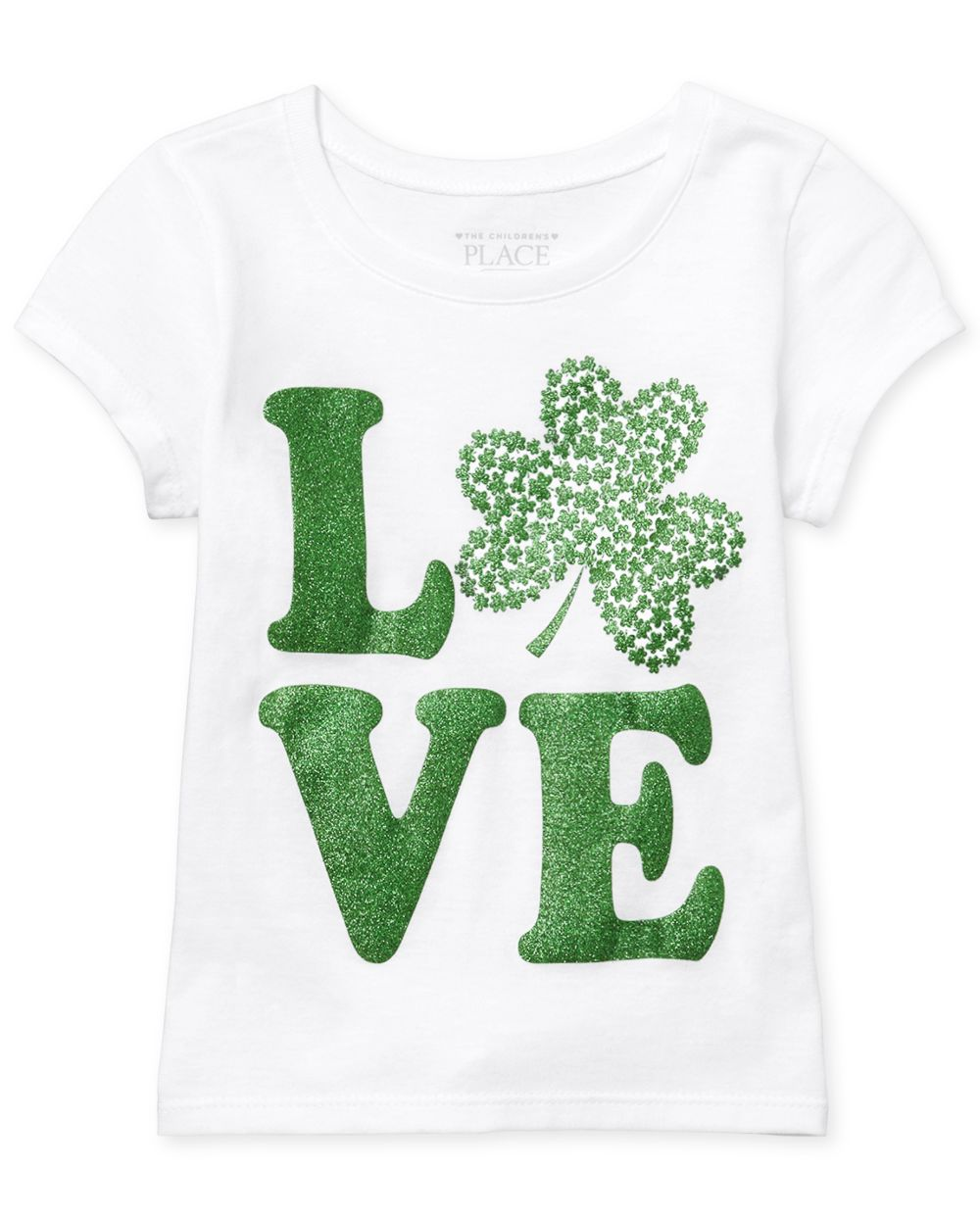 Baby And Toddler Girls St. Patrick's Day Graphic Tee