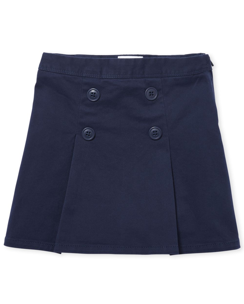 Girls Uniform Button Skort