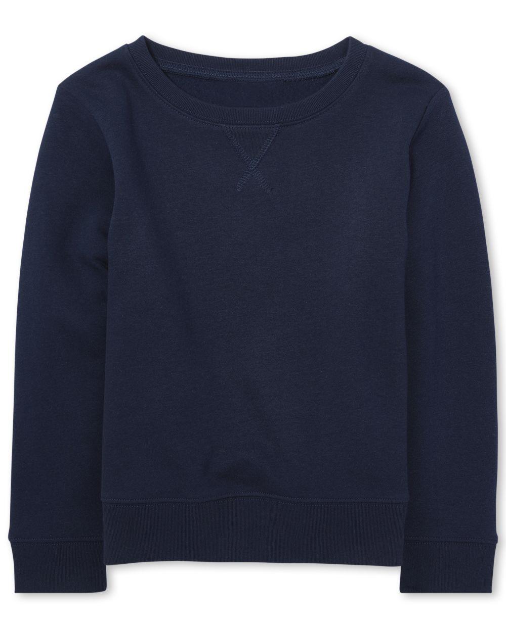 Girls Uniform Active French Terry Sweatshirt