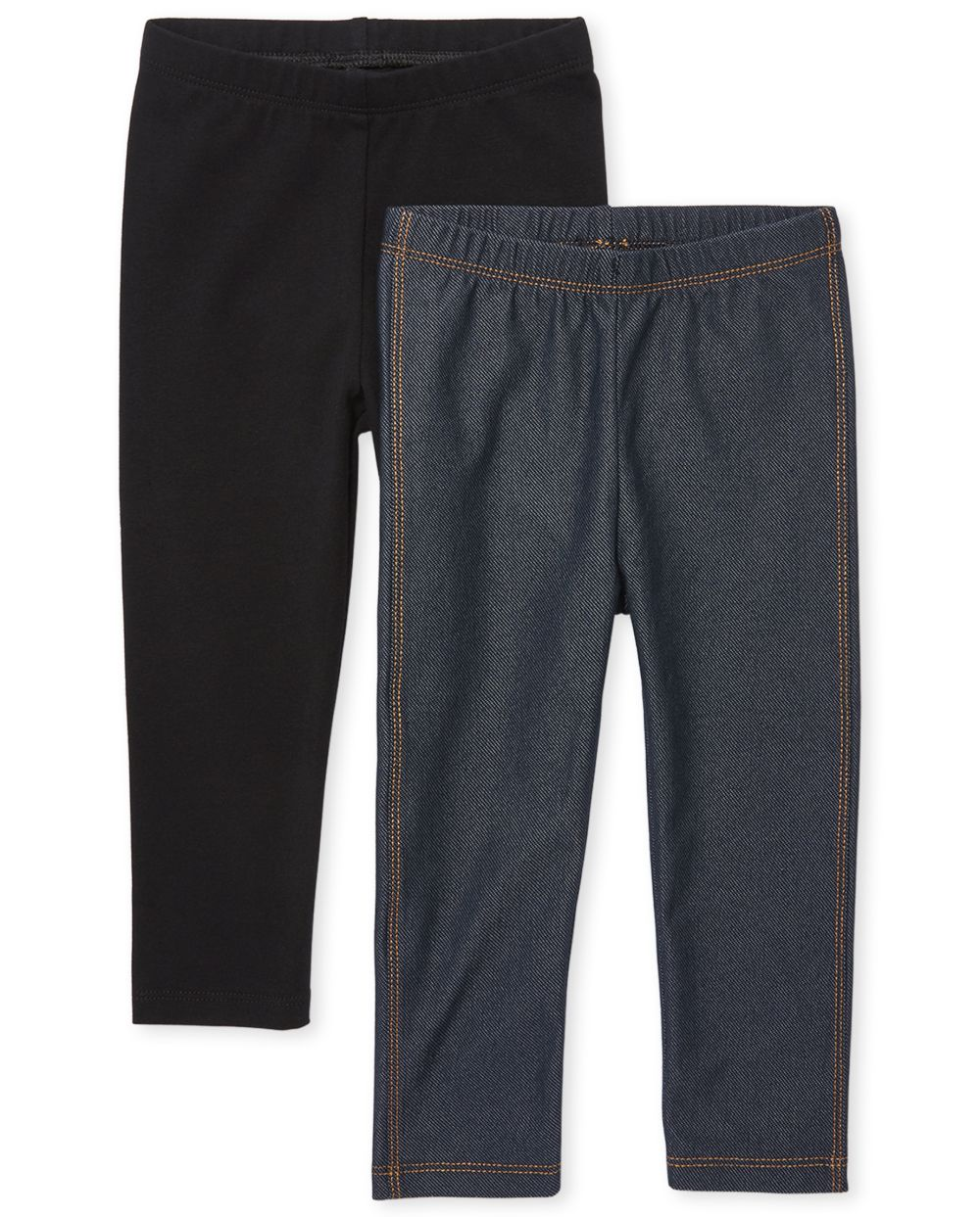 Pack de 2 leggings para bebés y niñas pequeñas