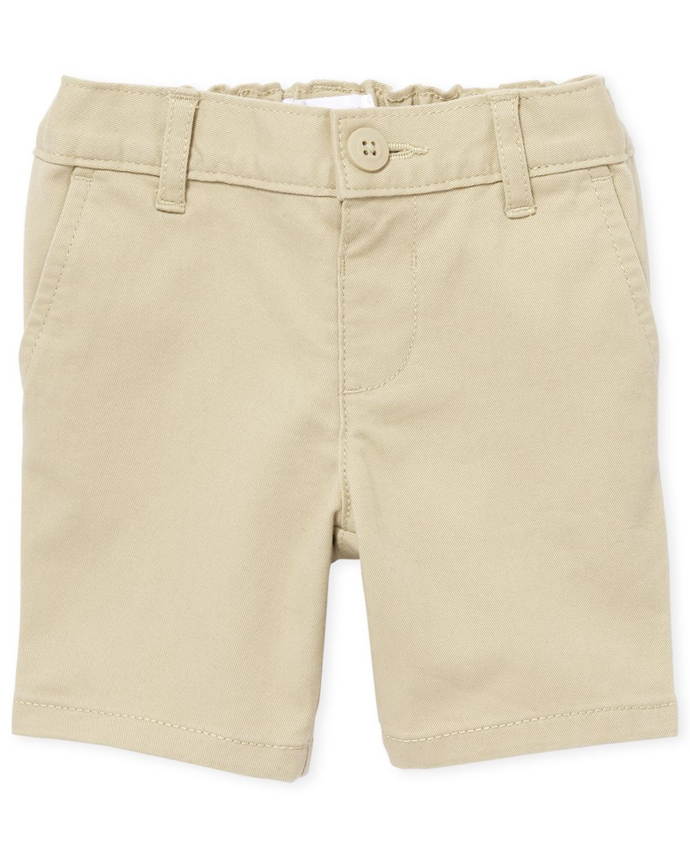 Shorts chinos uniformes para niñas pequeñas