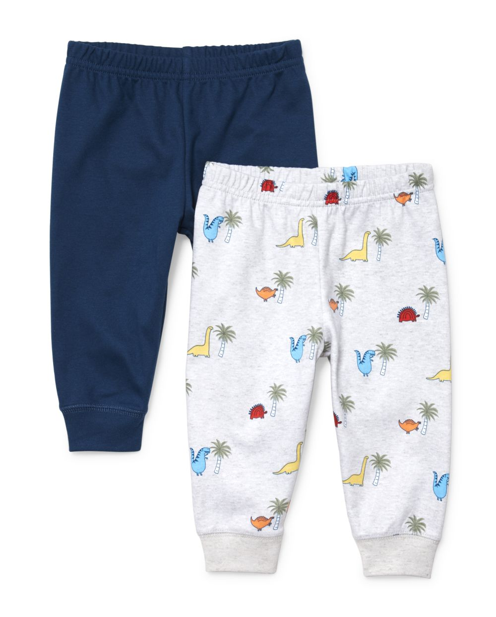Baby Boys Dino Pants 2-Pack