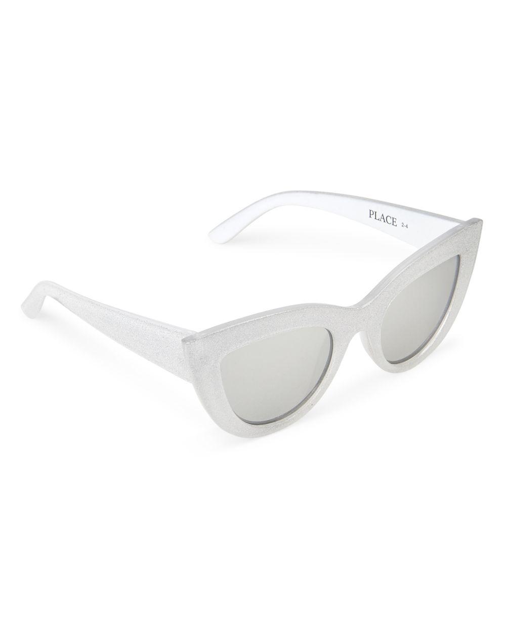Toddler Girls Glitter Cat Eye Sunglasses