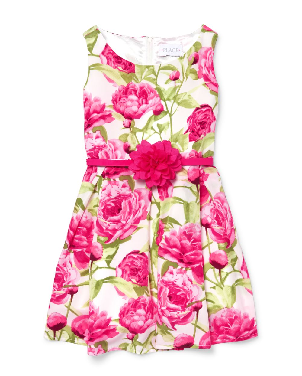 Girls Mommy and Me Floral Matching Dress