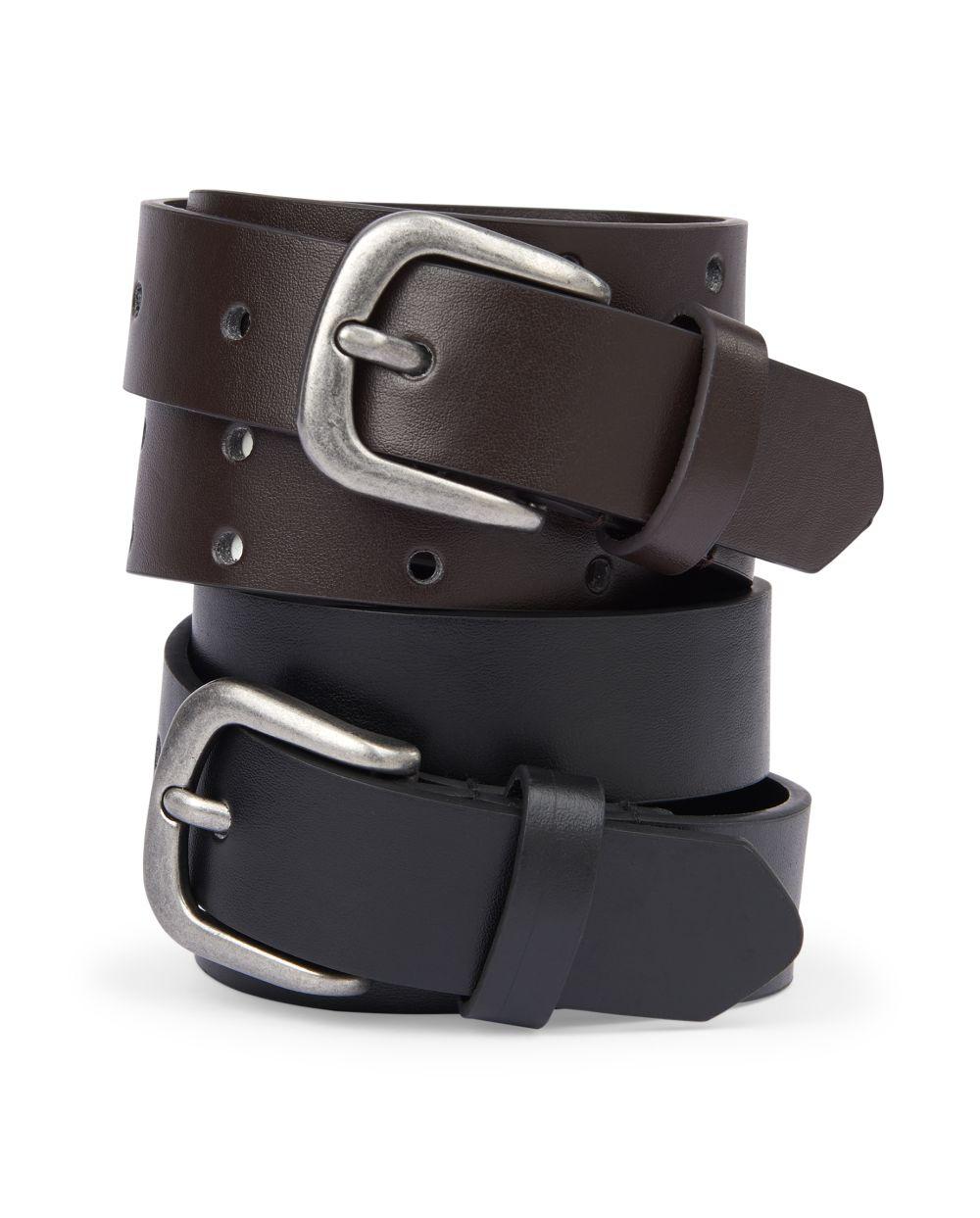 Boys Belt 2-Pack