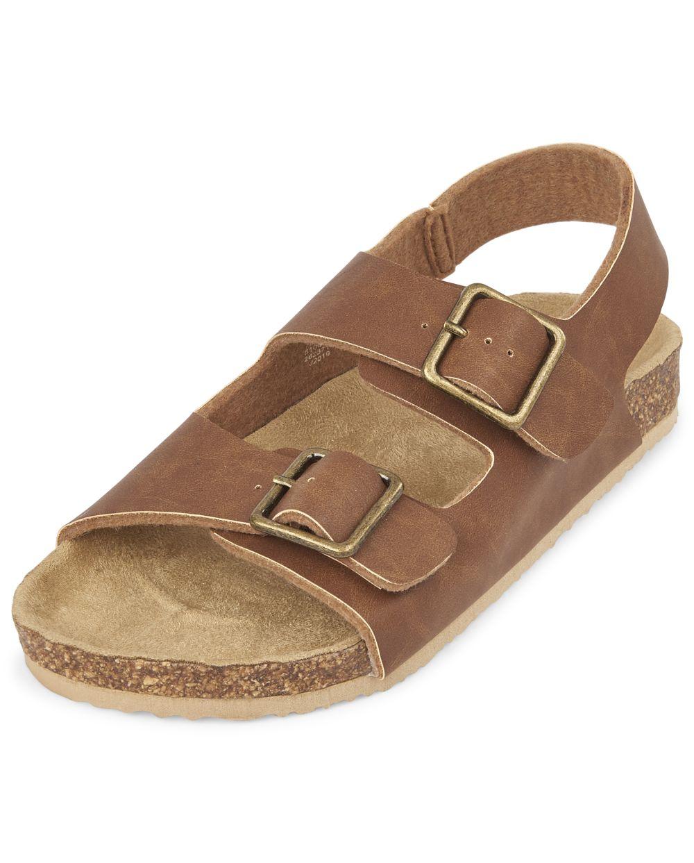 Boys Double Strap Sandals