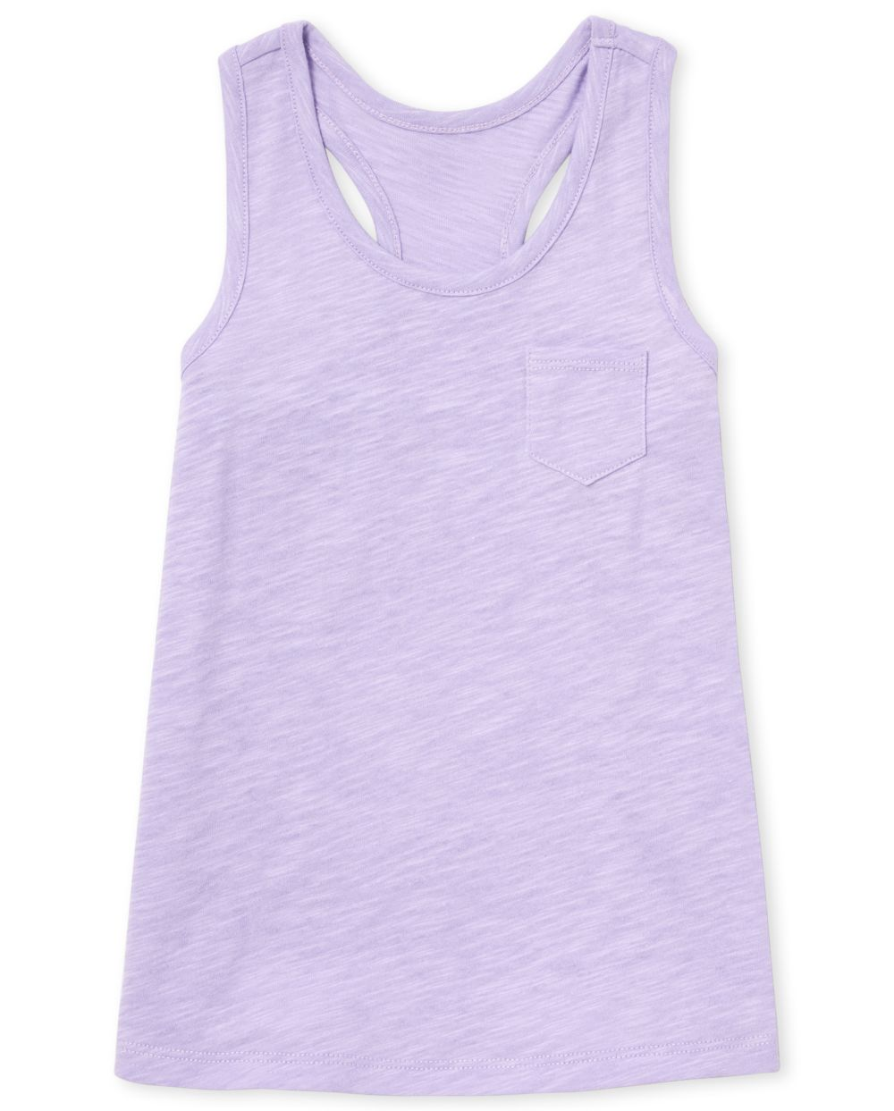 Girls Mix And Match Pocket Racerback Tank Top