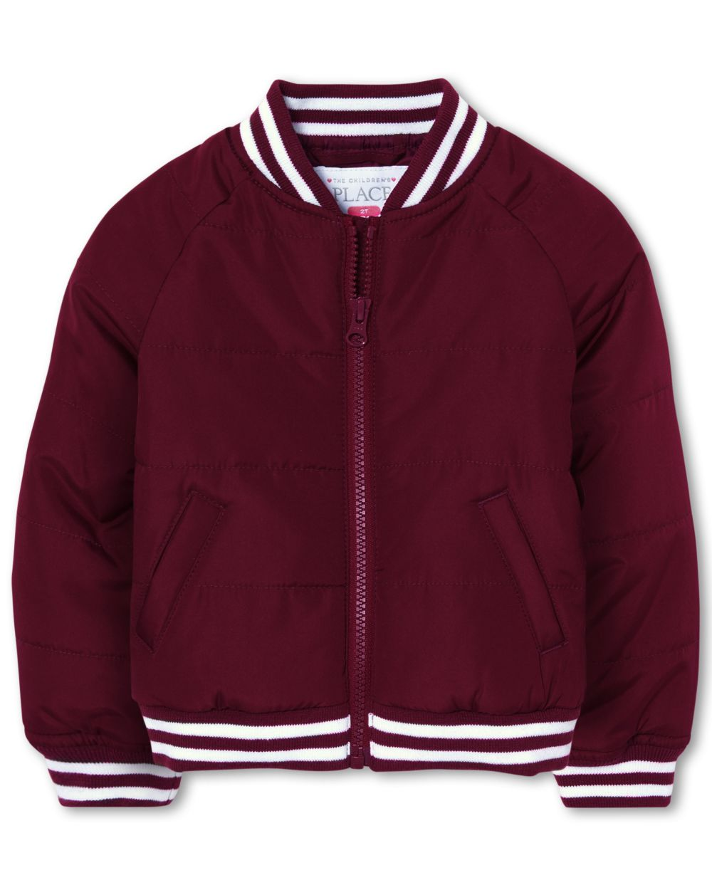 Toddler Girls Uniform Bomber Jacket