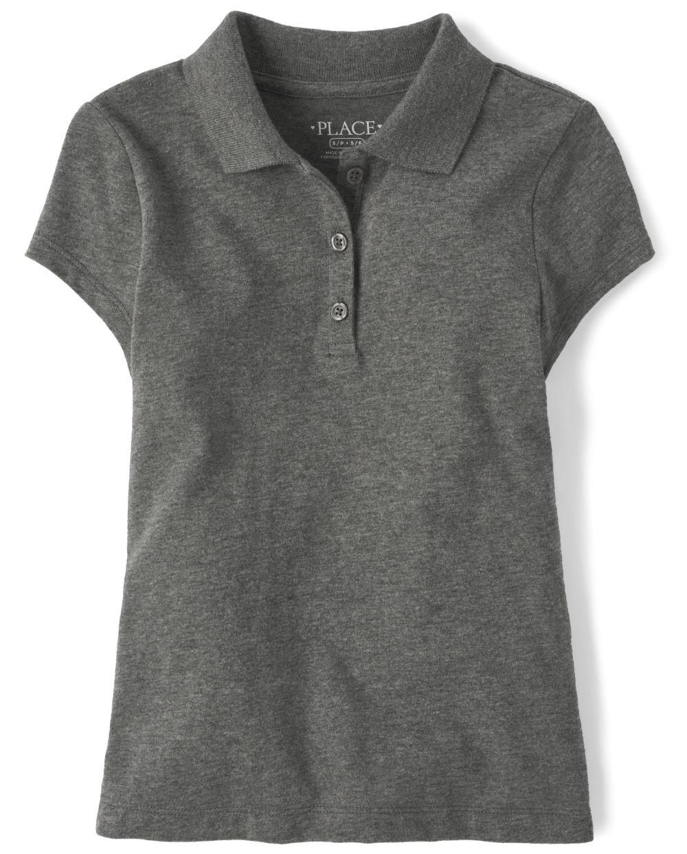 Girls Uniform Soft Jersey Polo