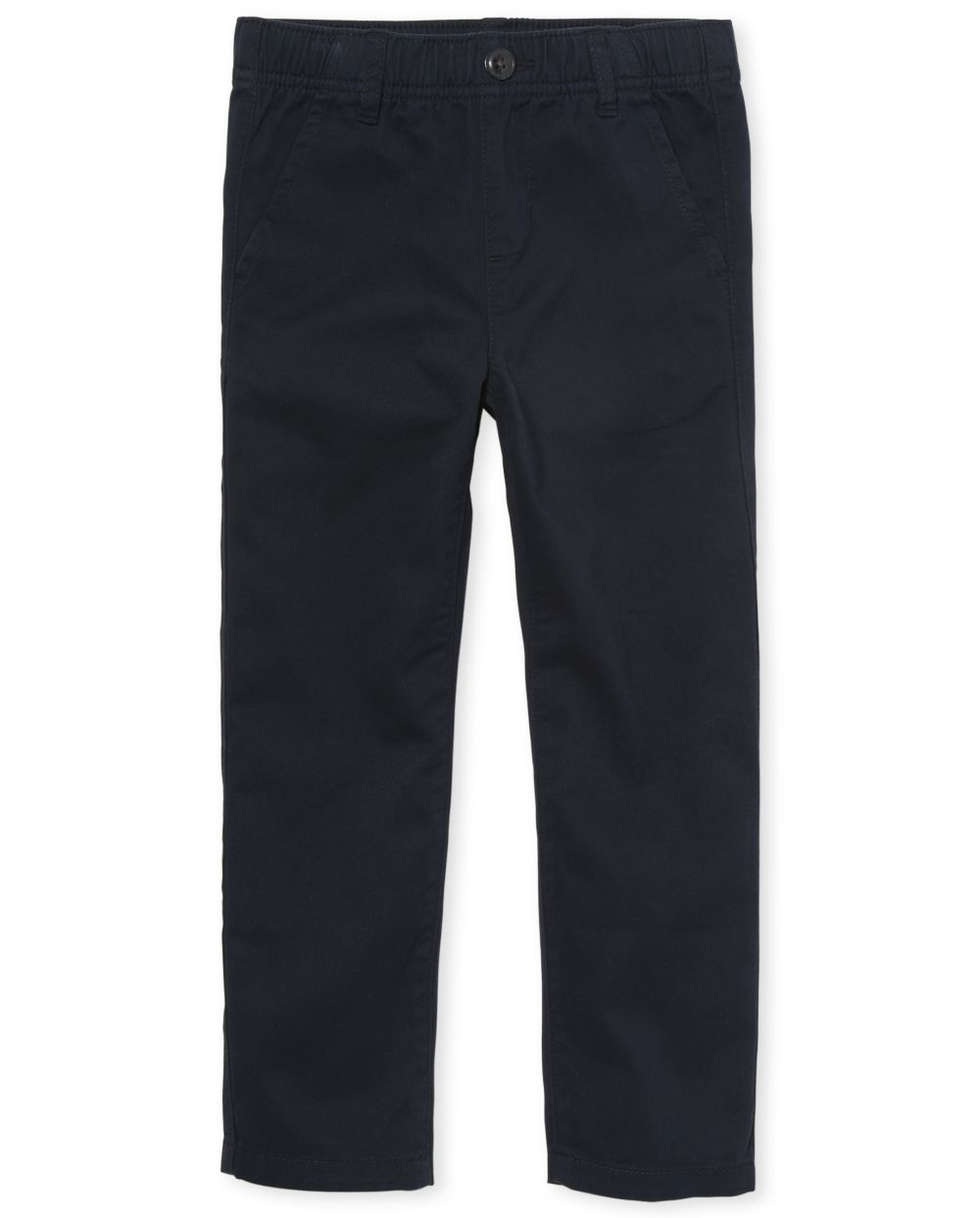 Pantalon chino à enfiler uniforme pour garçon