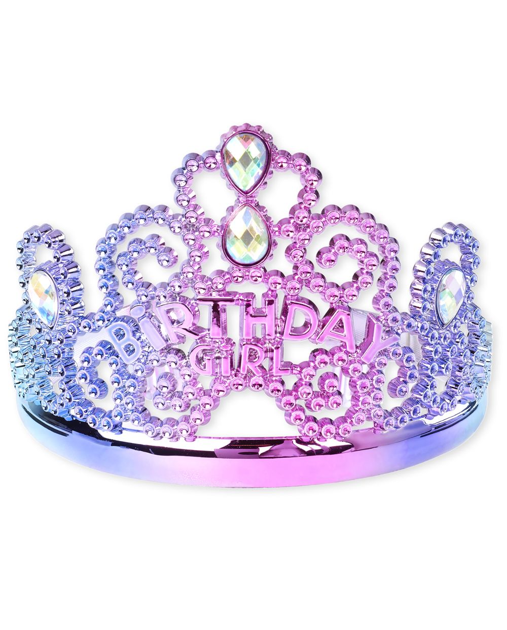 Girls Birthday Girl Tiara Headband