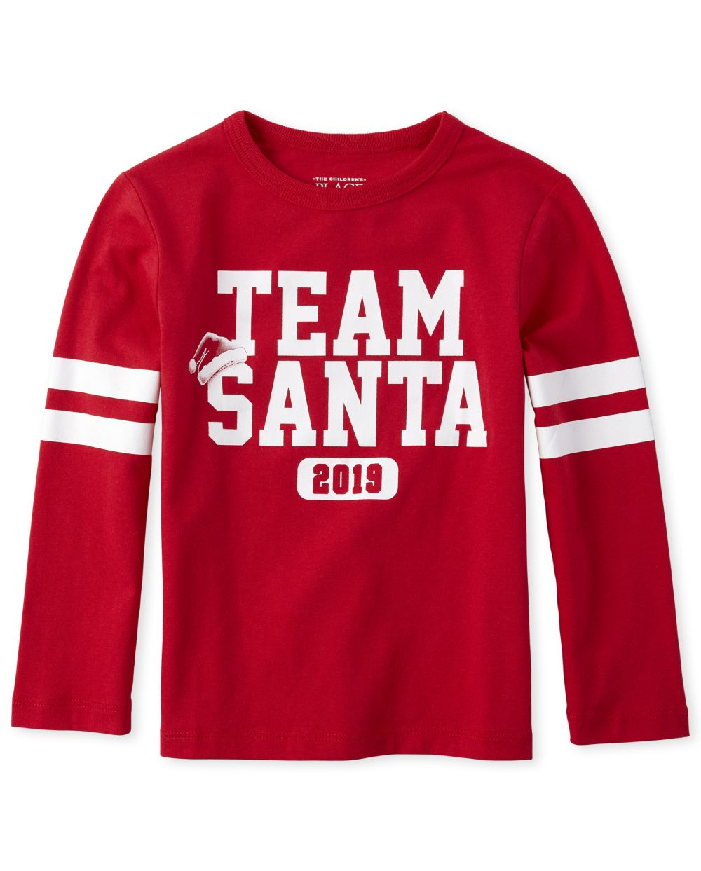 Baby And Toddler Boys Matching Family Team Santa Graphic Tee