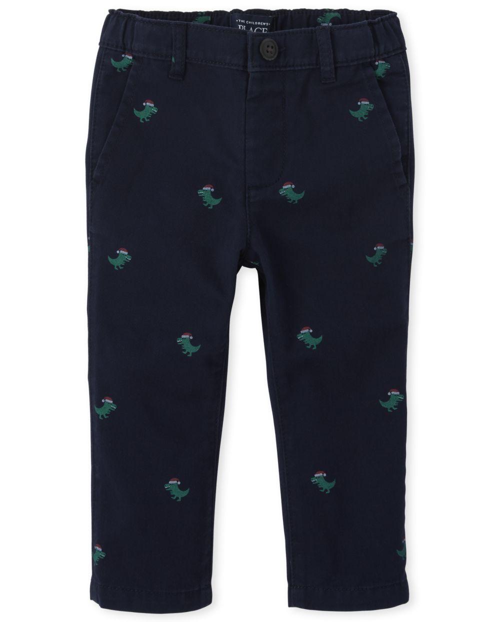 Toddler And Boys Merry Rex-Mas Chino Pants