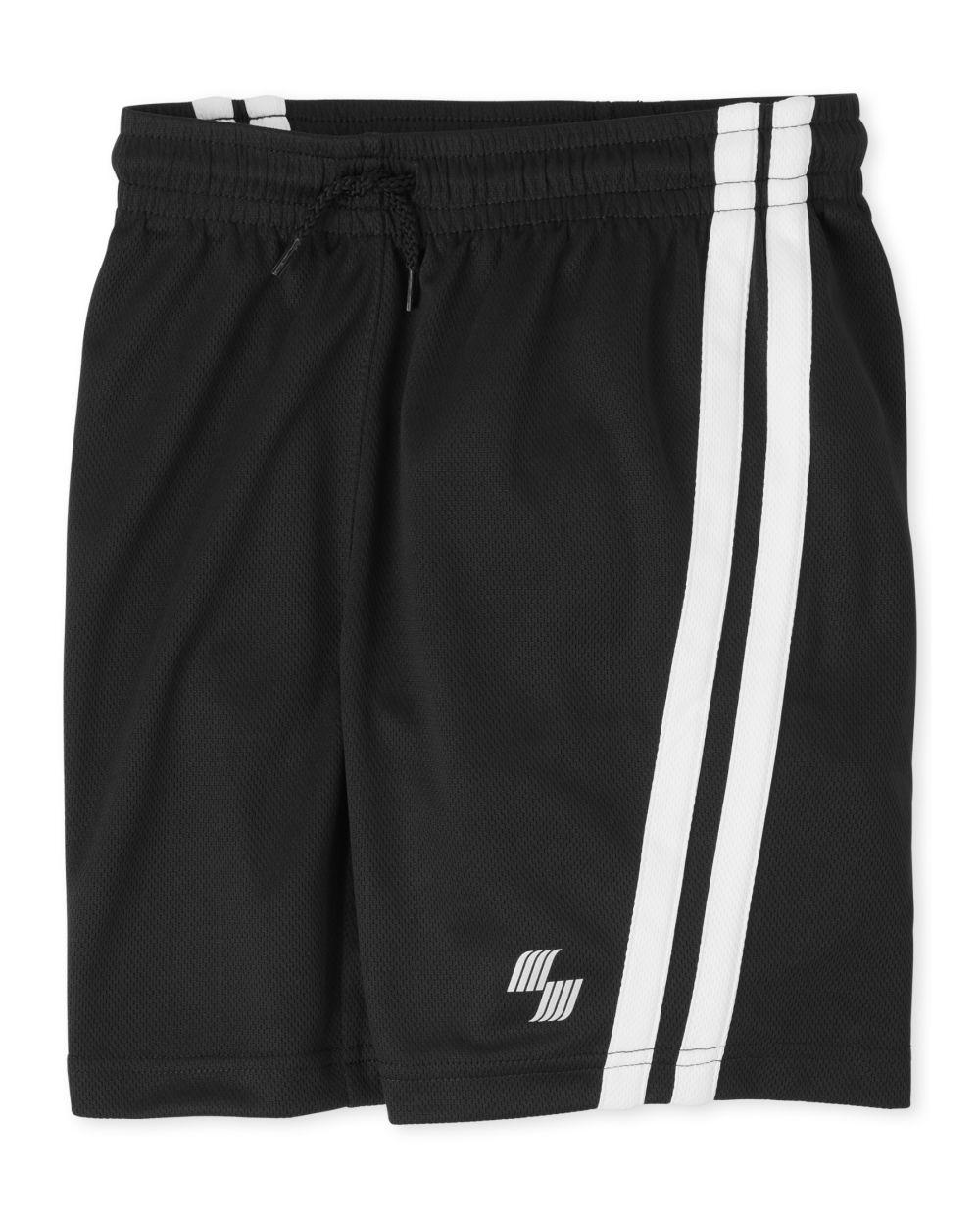 Boys Mix And Match Side Stripe Performance Basketball Shorts