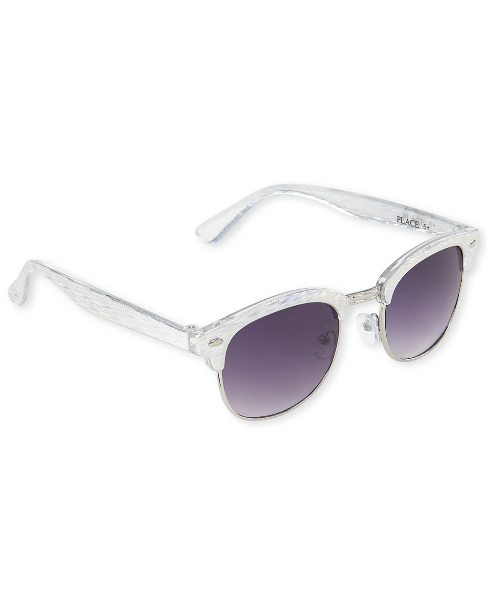 Girls Holographic Retro Sunglasses