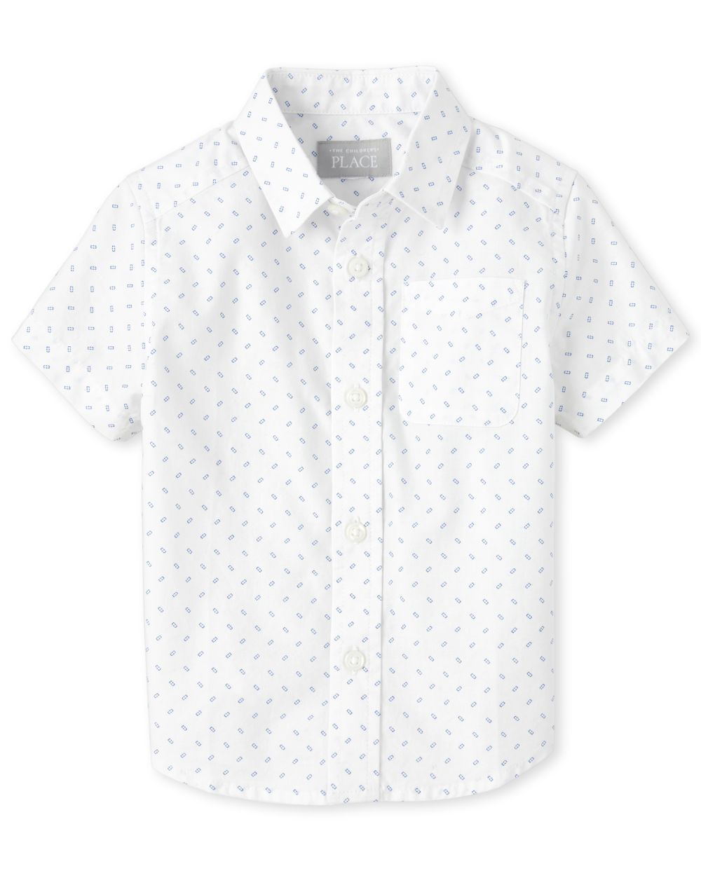 Baby And Toddler Boys Dad And Me Print Poplin Matching Button Down Shirt
