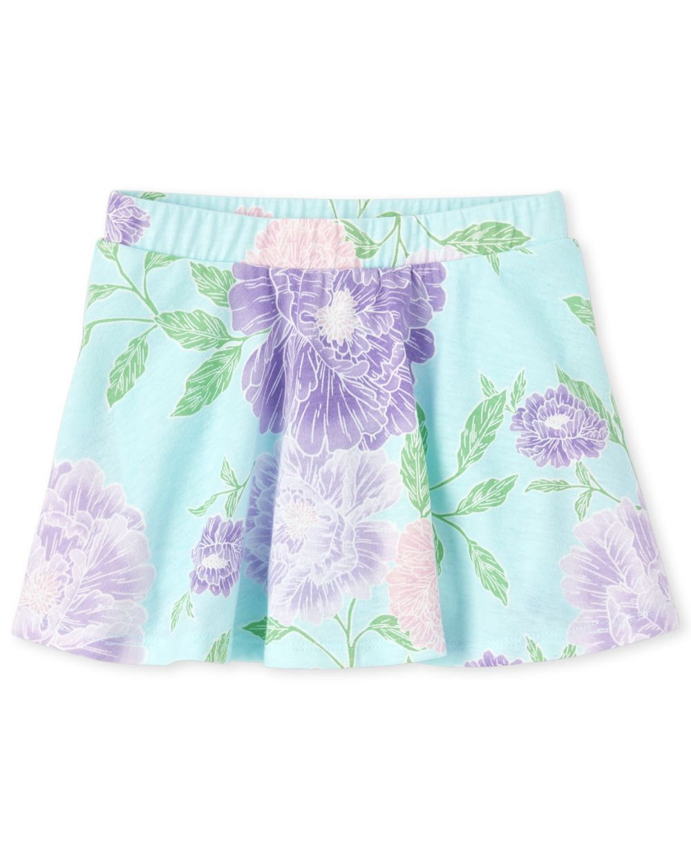 Baby And Toddler Girls Mix And Match Print Skort