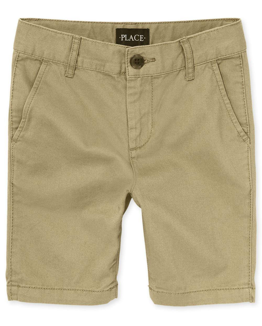 Boys Stretch Chino Shorts