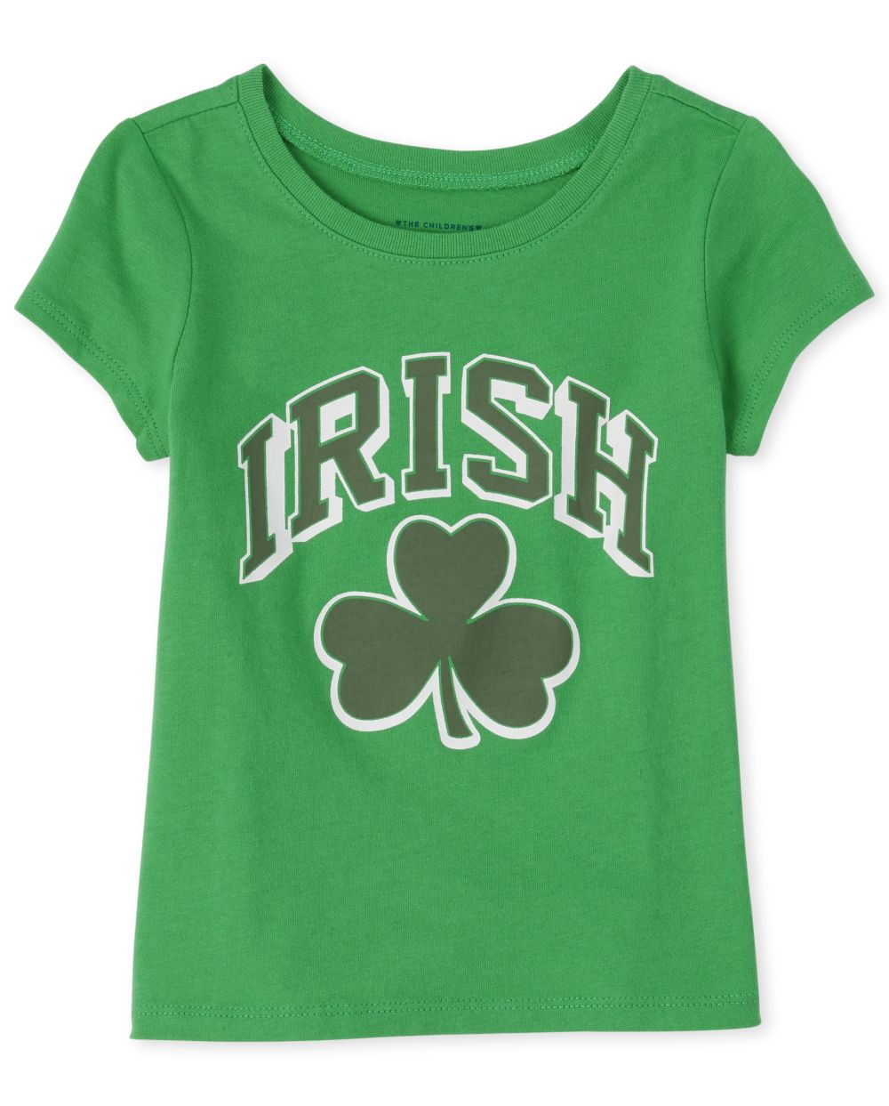 Baby And Toddler Girls Matching Family Shamrock Graphic Tee
