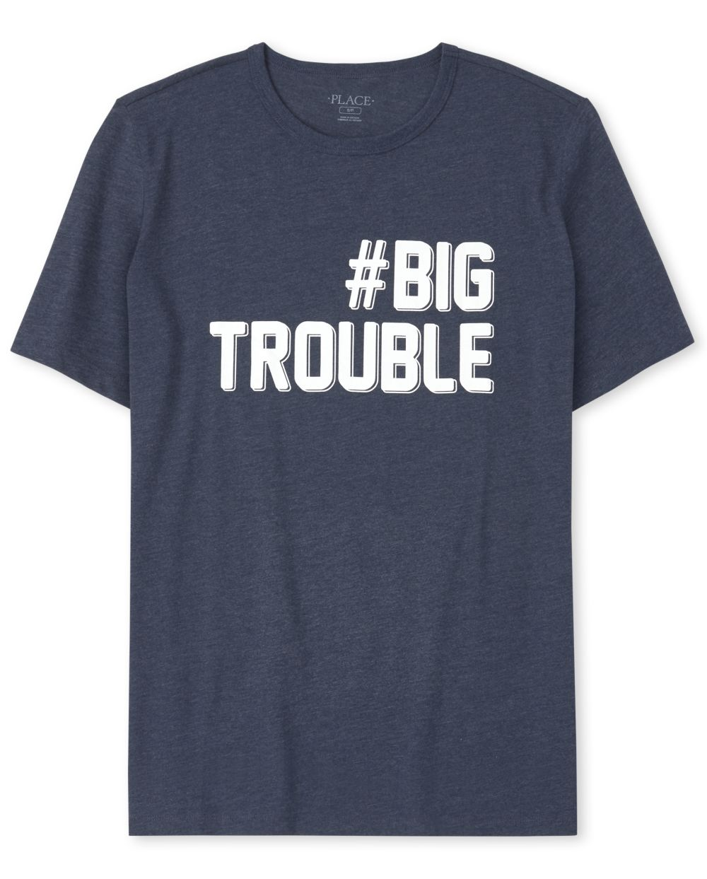 Mens Dad And Me Trouble Matching Graphic Tee