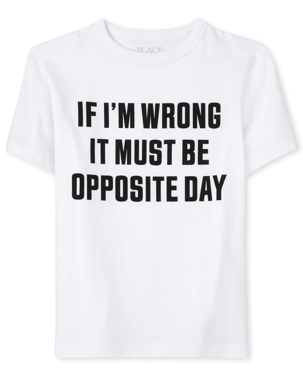 Boys Opposite Day Graphic Tee