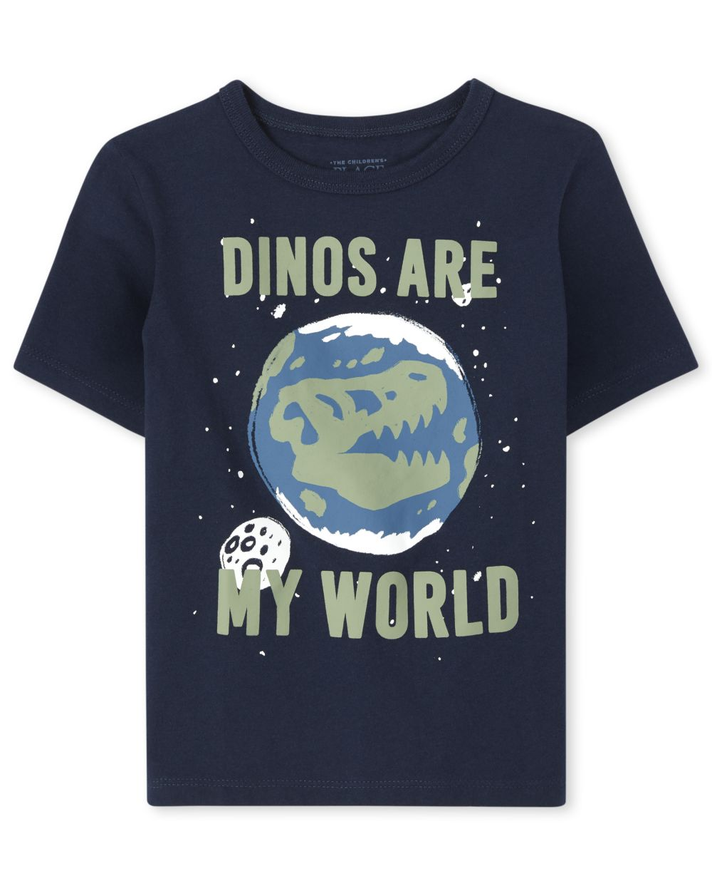Baby And Toddler Boys Dino World Graphic Tee