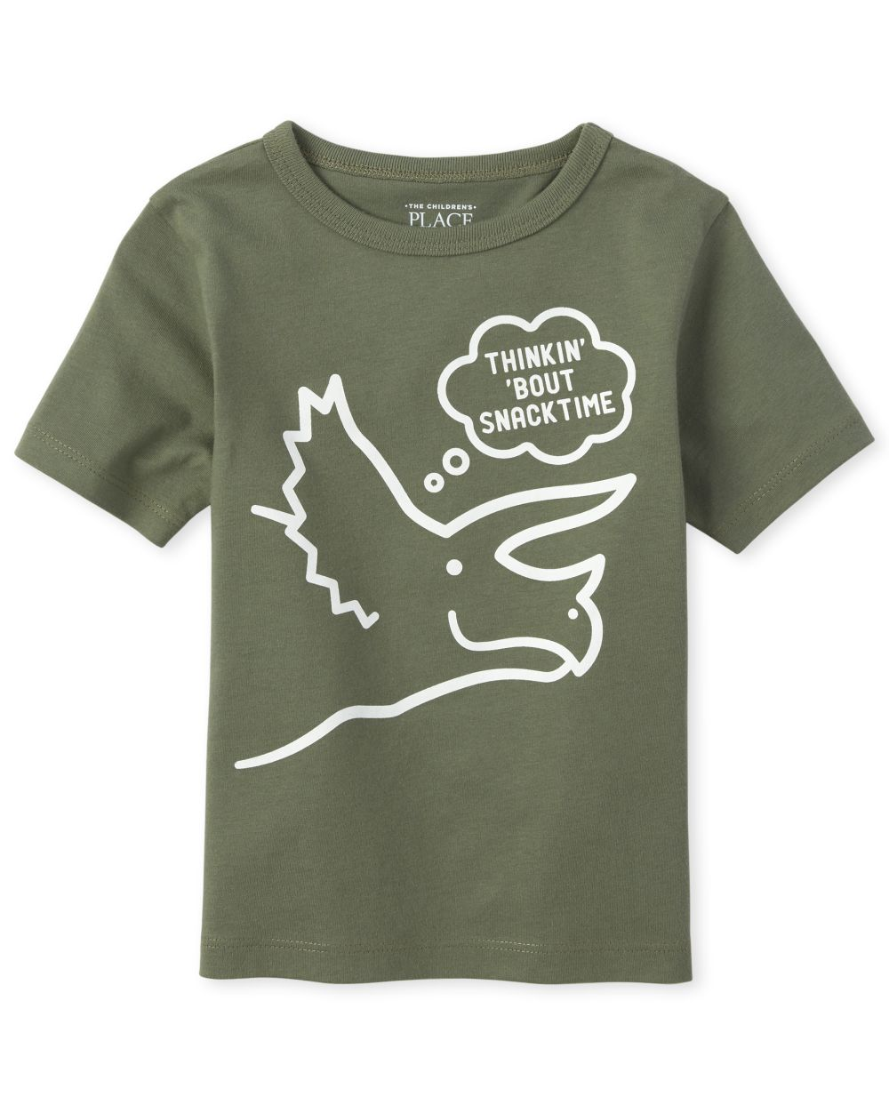 Baby And Toddler Boys Dino Snack Graphic Tee