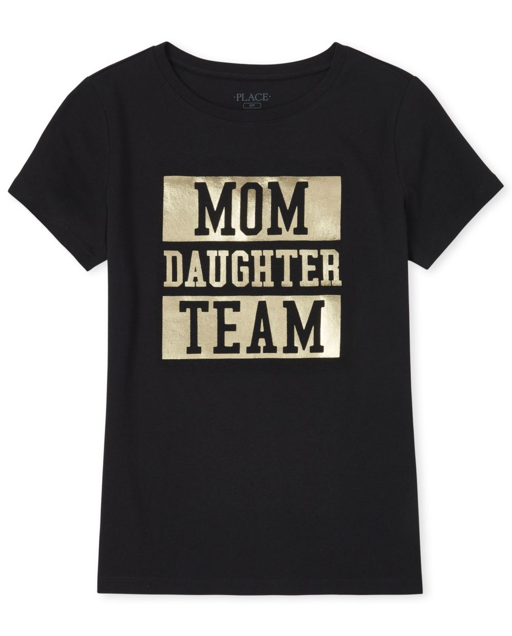 Womens Matching Family Foil Team Graphic Tee