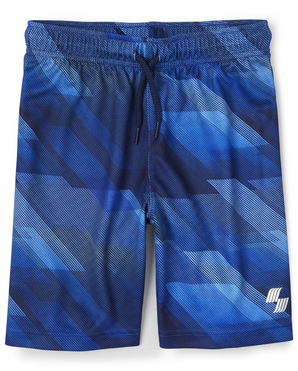 Boys Mix And Match Mesh Performance Basketball Shorts