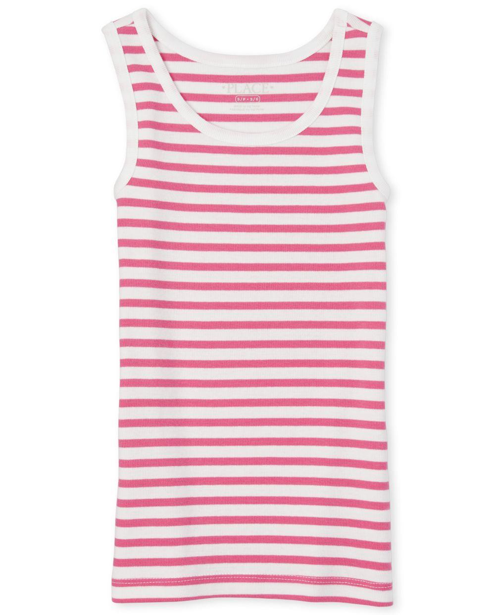 Girls Striped Tank Top