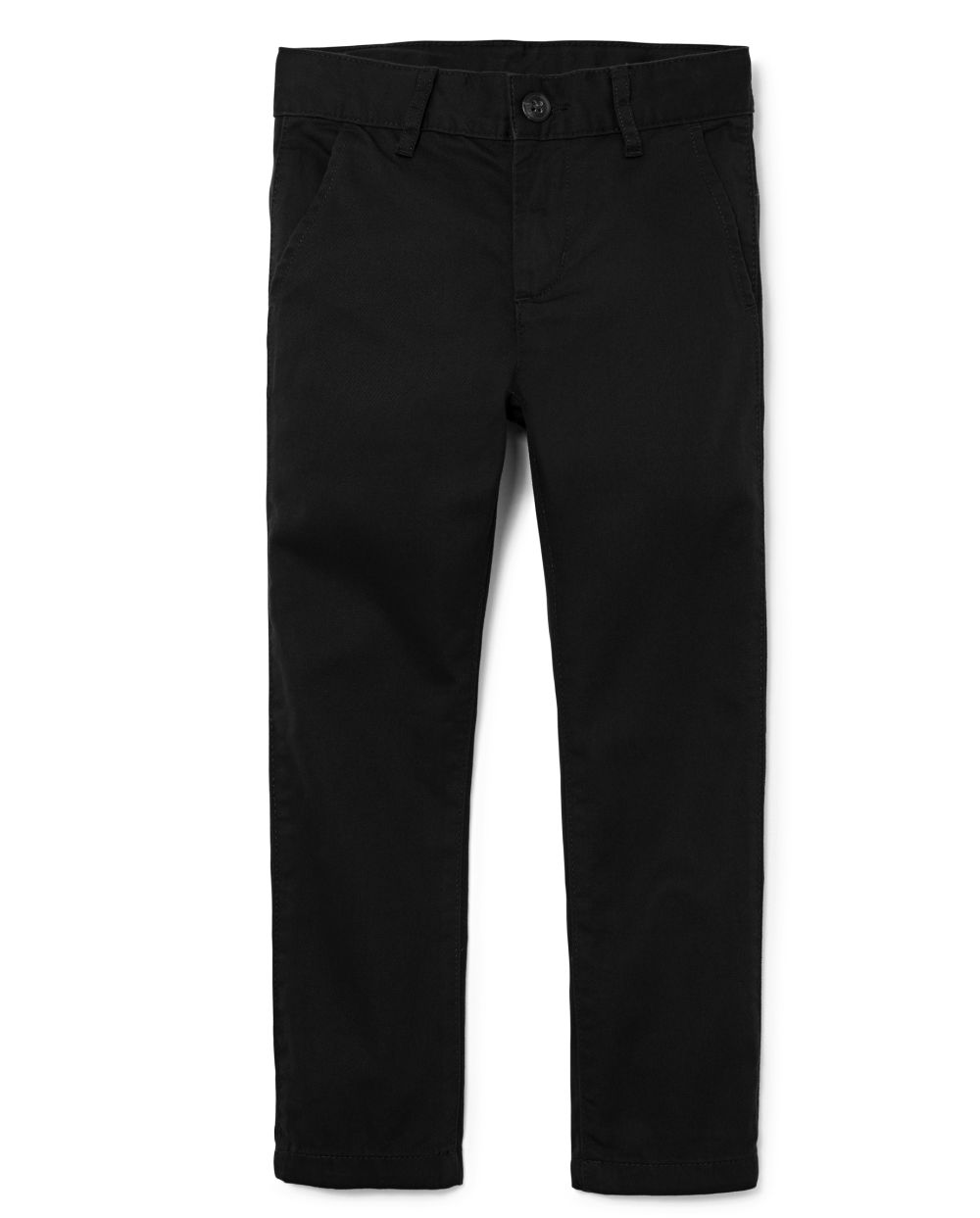 Boys Uniform Stain And Wrinkle Resistant Stretch Skinny Perfect Pants