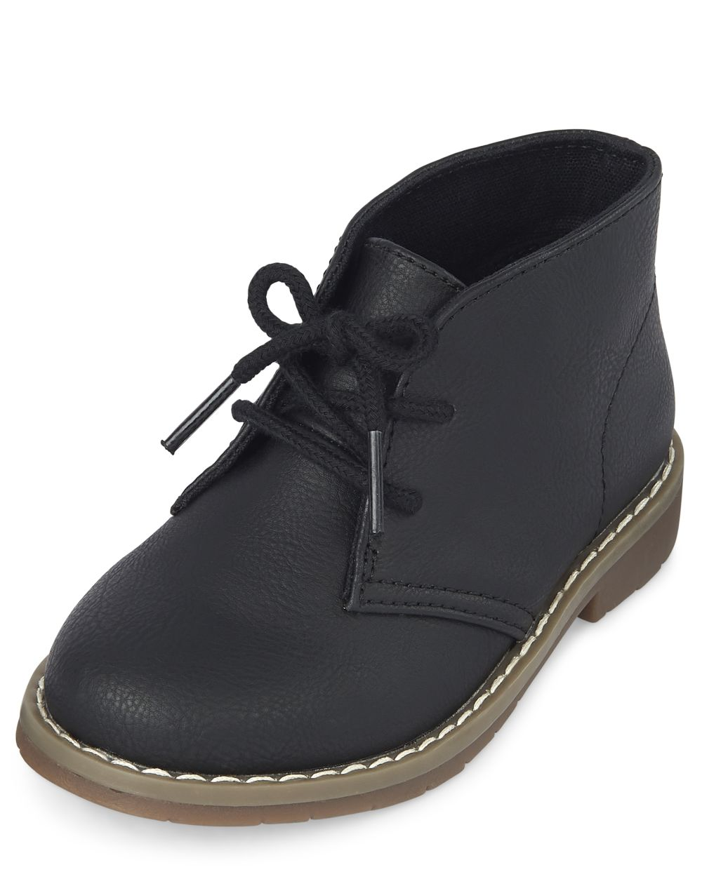 Toddler Boys Uniform Lace Up Boots