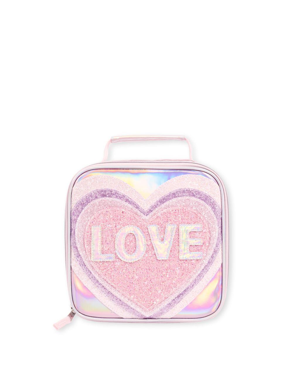 Girls Glitter Love Lunch Box