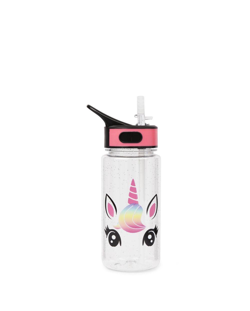 Girls Unicorn Water Bottle