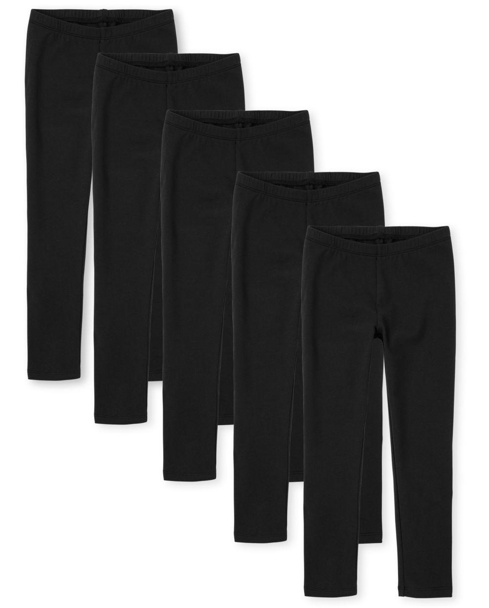 Girls Leggings 5-Pack